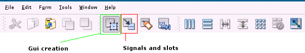 Signals and slots in pyqt4