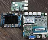 Płytki x86 obok Raspberry Pi